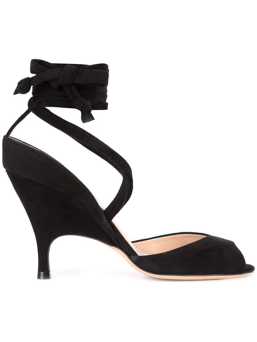 4883126f5ae Lyst - Alchimia Di Ballin Strappy Sandals in Black