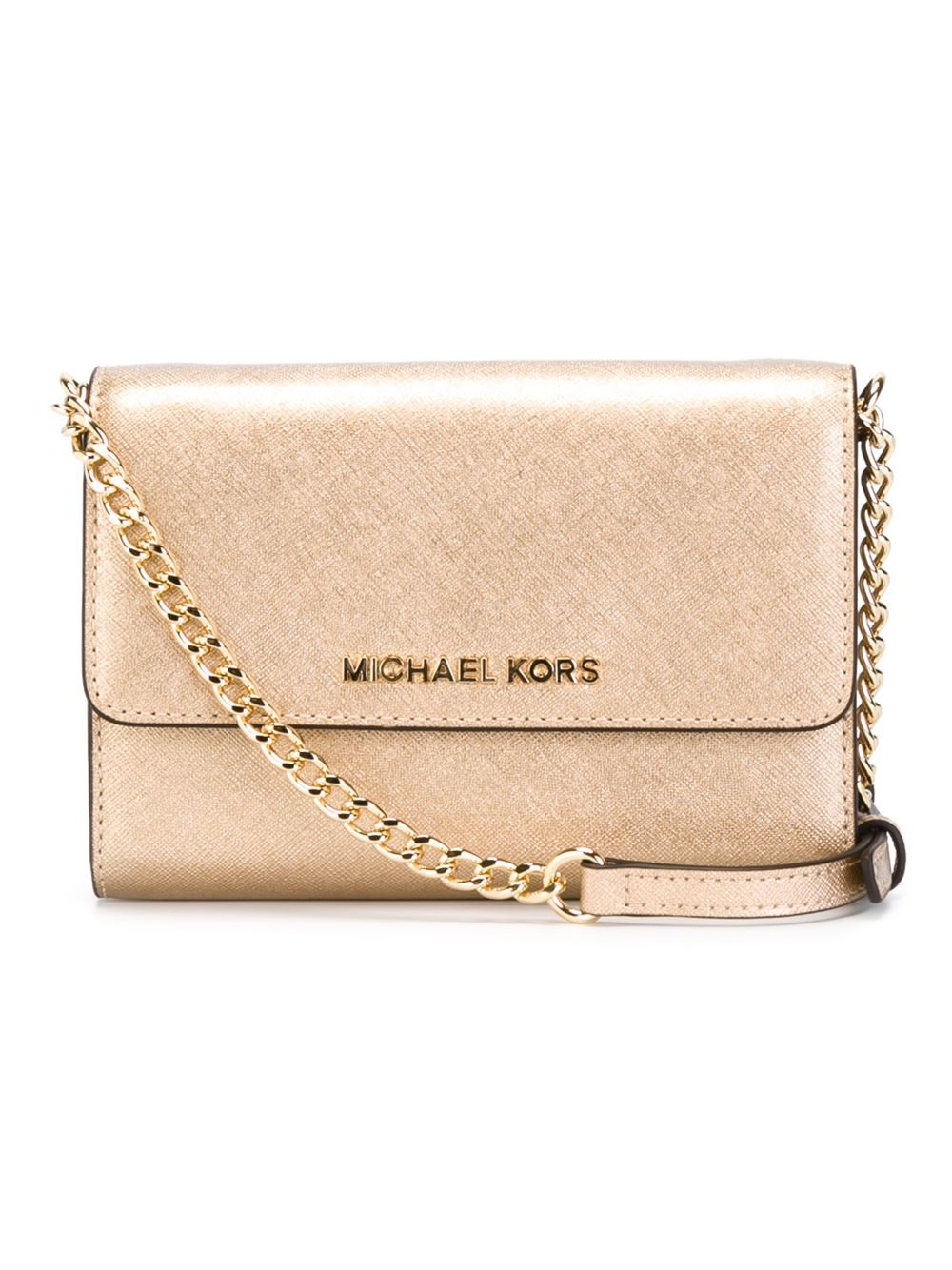 michael michael kors 39 jet set travel 39 phone crossbody bag. Black Bedroom Furniture Sets. Home Design Ideas
