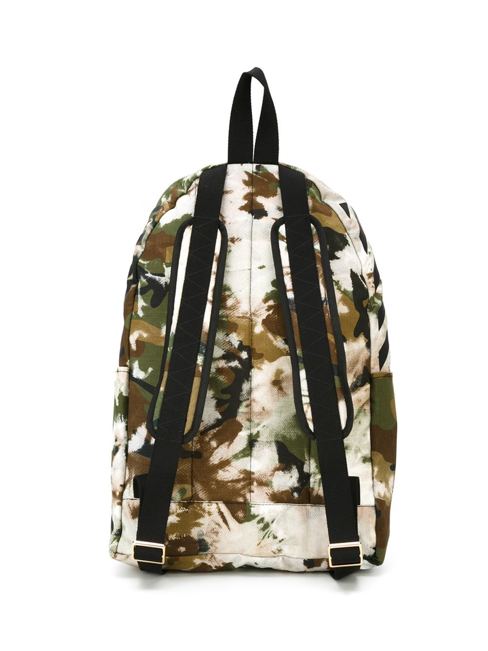 off white c o virgil abloh camouflage print backpack in. Black Bedroom Furniture Sets. Home Design Ideas