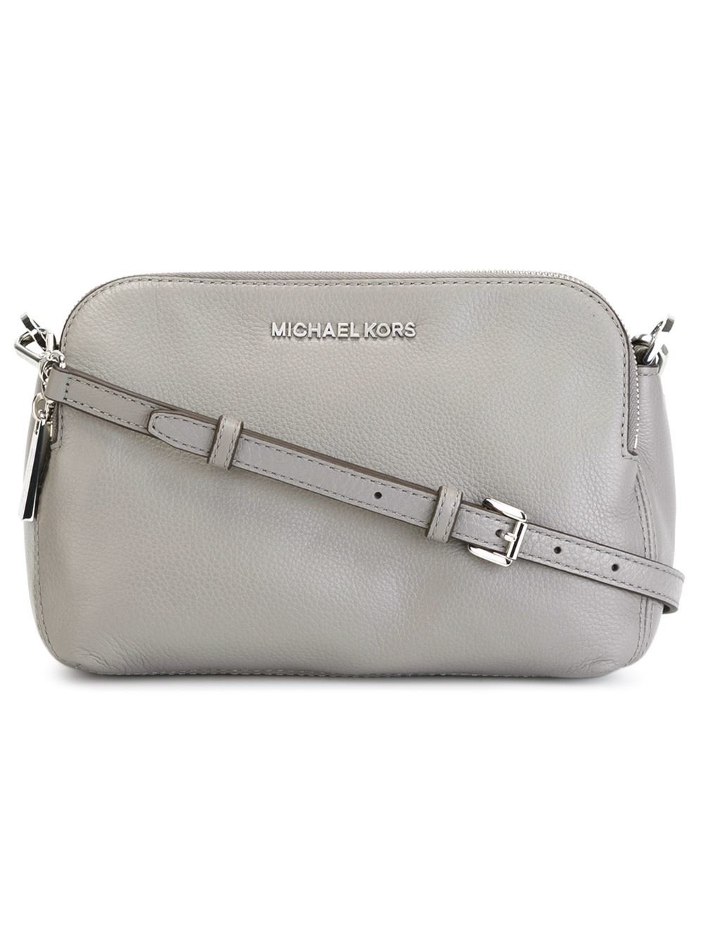 4012061008d1 Lyst - MICHAEL Michael Kors Bedford Crossbody Bag in Gray