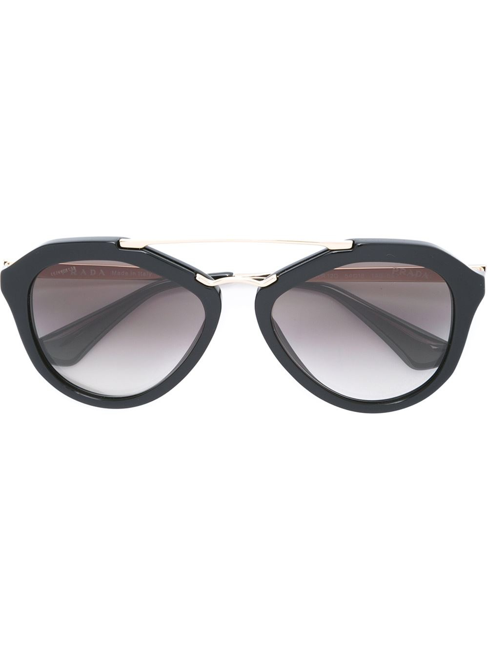 Prada D Frame Sunglasses in Gold (unavailable) Lyst