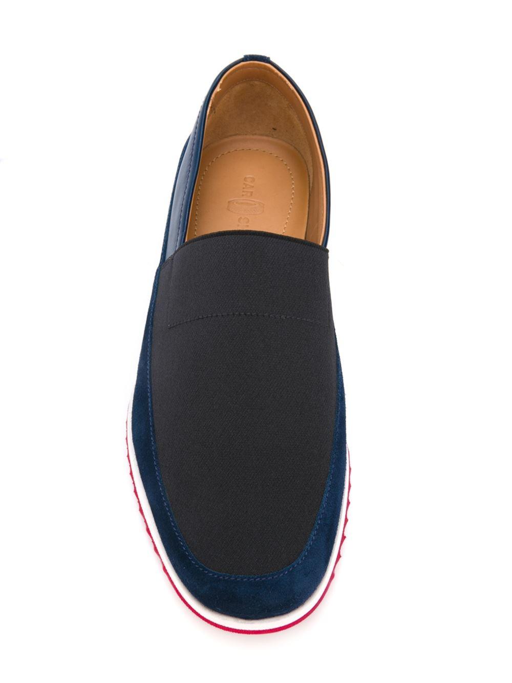 Car Shoe Rigid Sole Boat Shoes In Black For Men Lyst