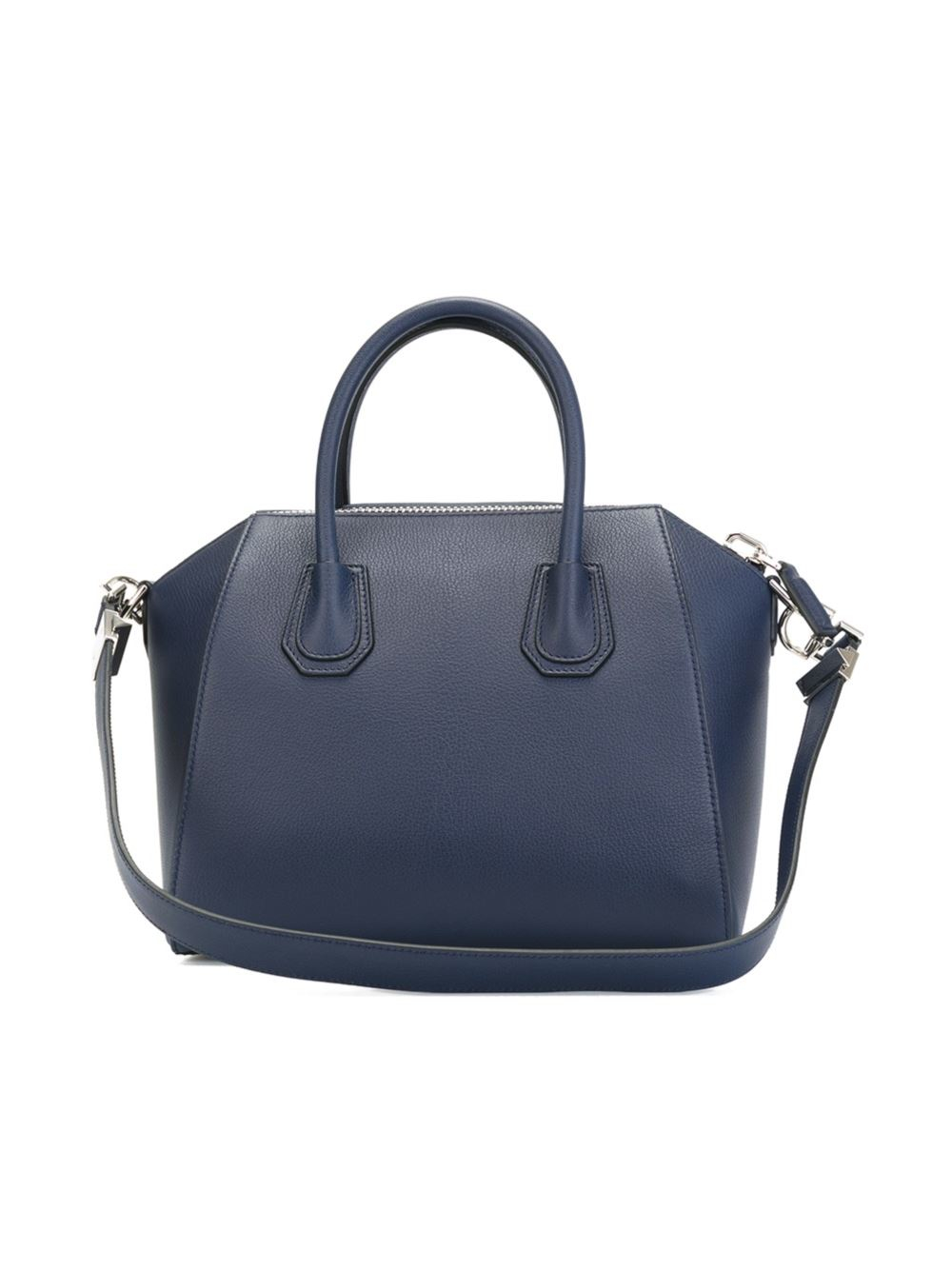 givenchy small 39 antigona 39 tote in blue lyst. Black Bedroom Furniture Sets. Home Design Ideas