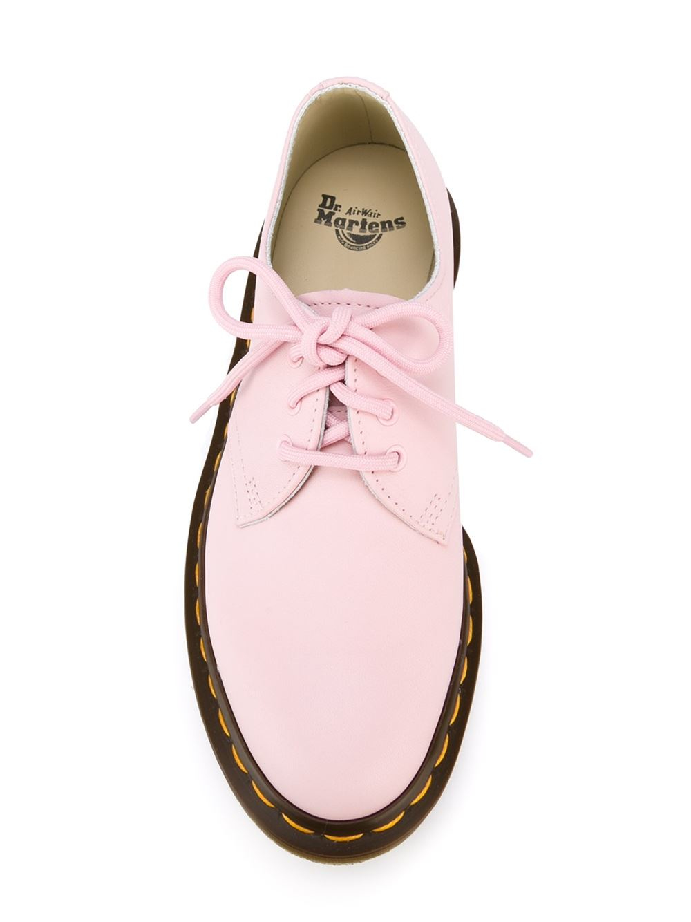 Lyst Dr Martens 3 Eye Oxford Shoes In Pink