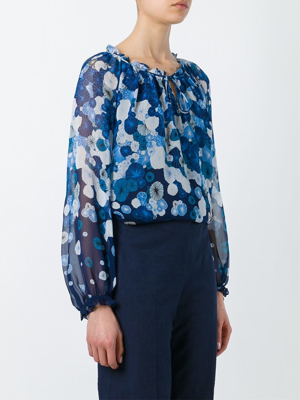 Find blue floral blouse at ShopStyle. Shop the latest collection of blue floral blouse from the most popular stores - all in one place.