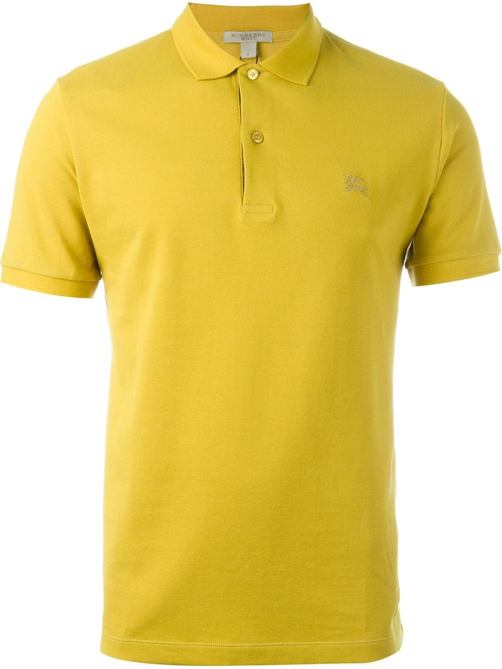 Burberry Brit Classic Polo Shirt For Men Lyst