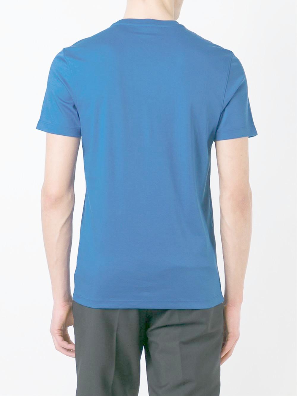 michael kors classic t shirt in blue for men lyst. Black Bedroom Furniture Sets. Home Design Ideas