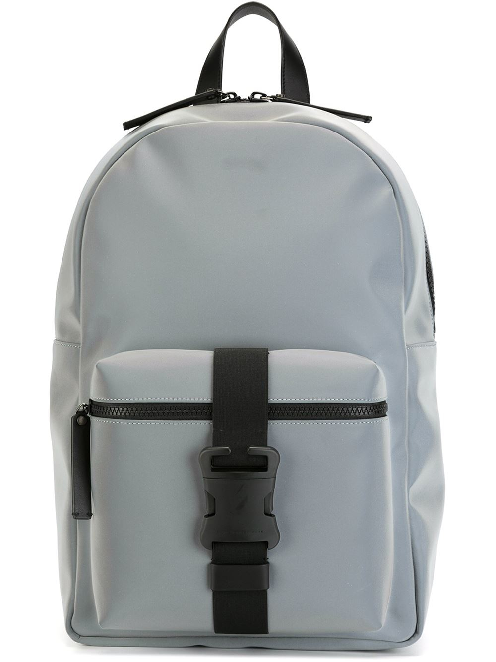 Lyst Christopher Kane Safety Buckle Backpack In Black