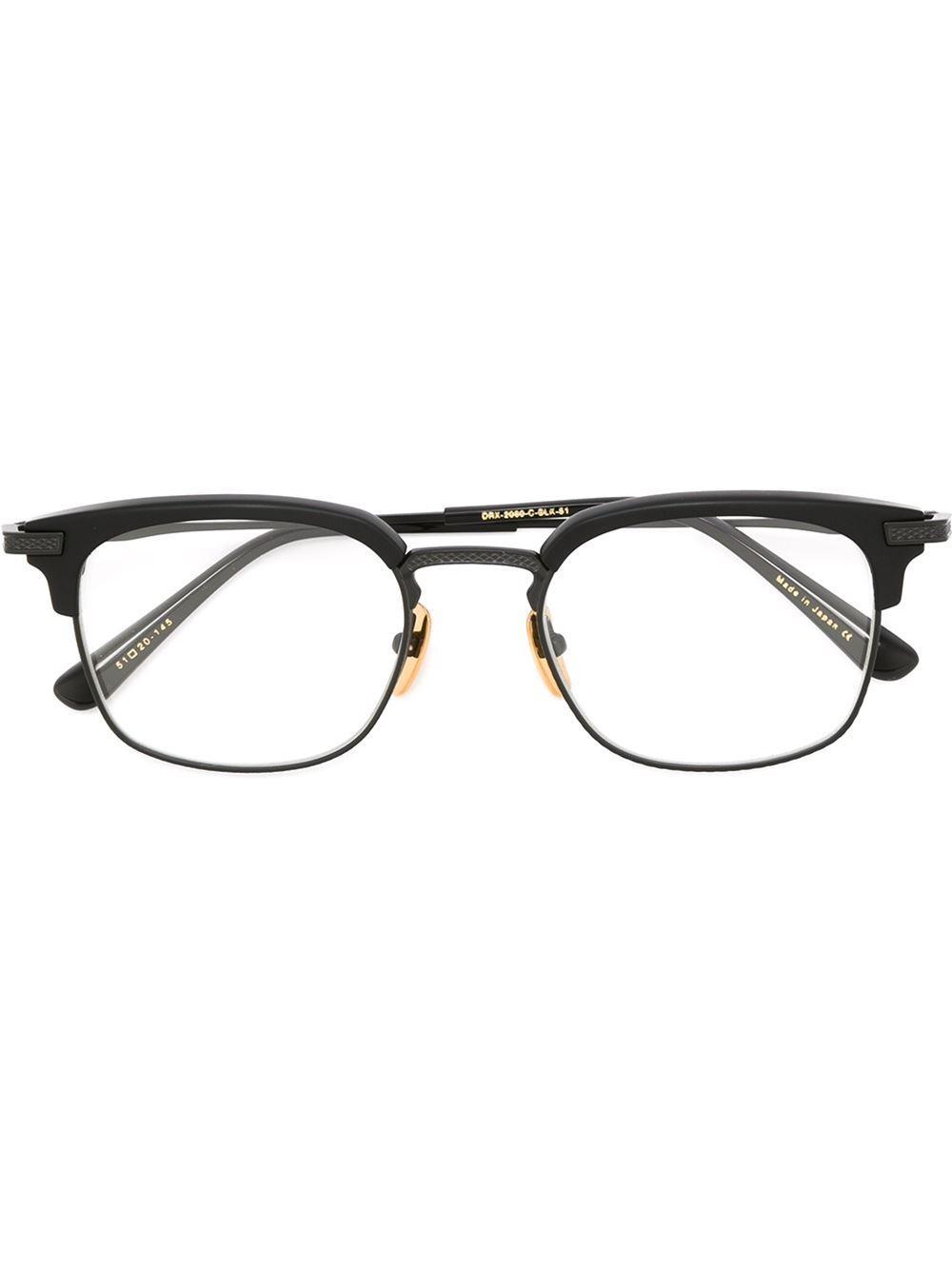 707c34cef1e8 Lyst - Dita Eyewear  nomad  Glasses in Black for Men