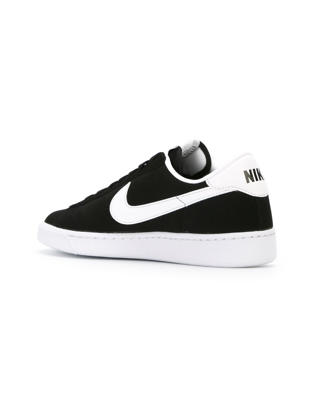 nike tennis sneakers in black for lyst
