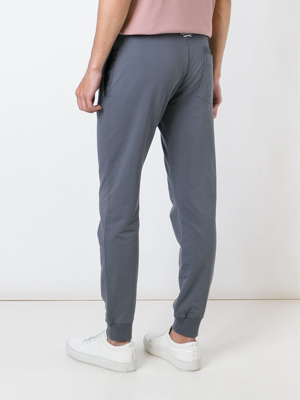Stone Island - Gray Track Pants for Men - Lyst
