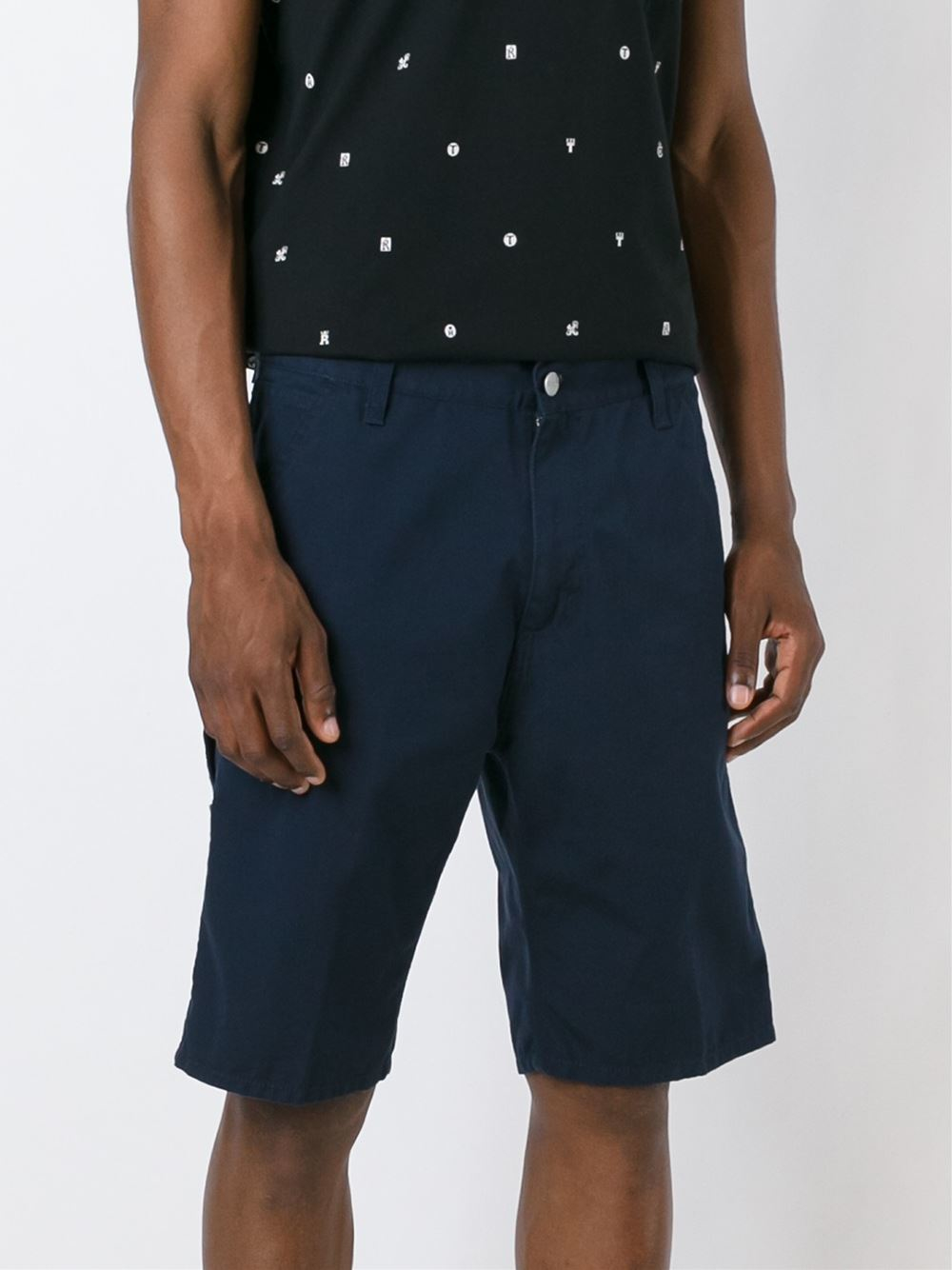 Carhartt Classic Shorts In Blue For Men Lyst