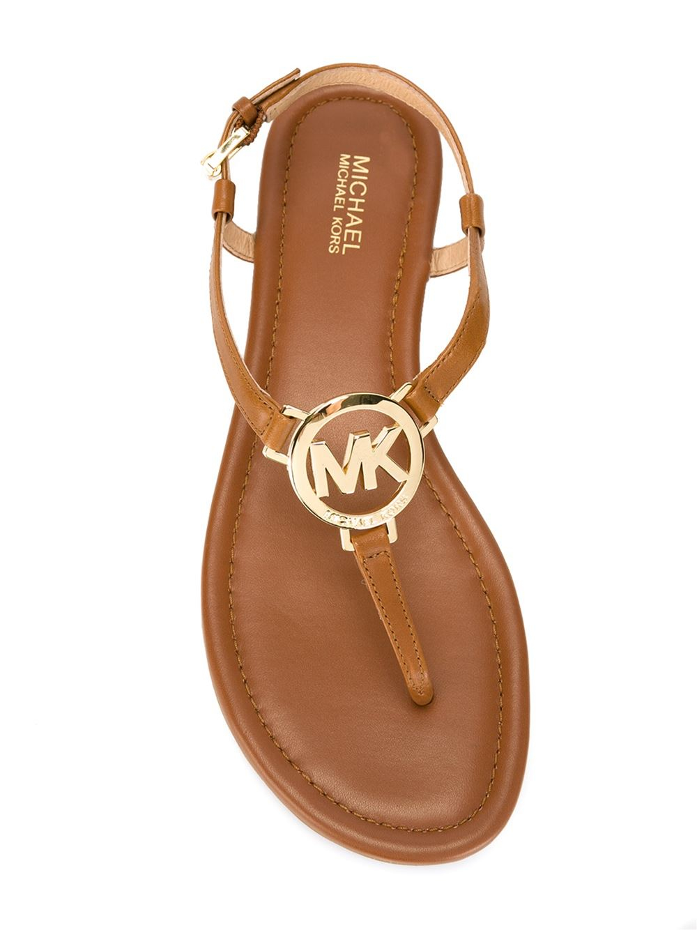Brown Snakeskin Flat Shoes