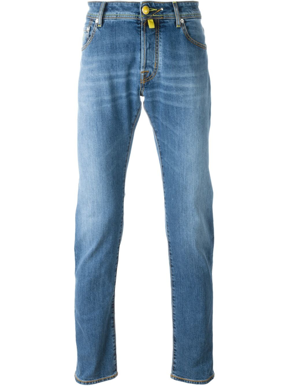 jacob cohen stone washed jeans in blue for men lyst. Black Bedroom Furniture Sets. Home Design Ideas