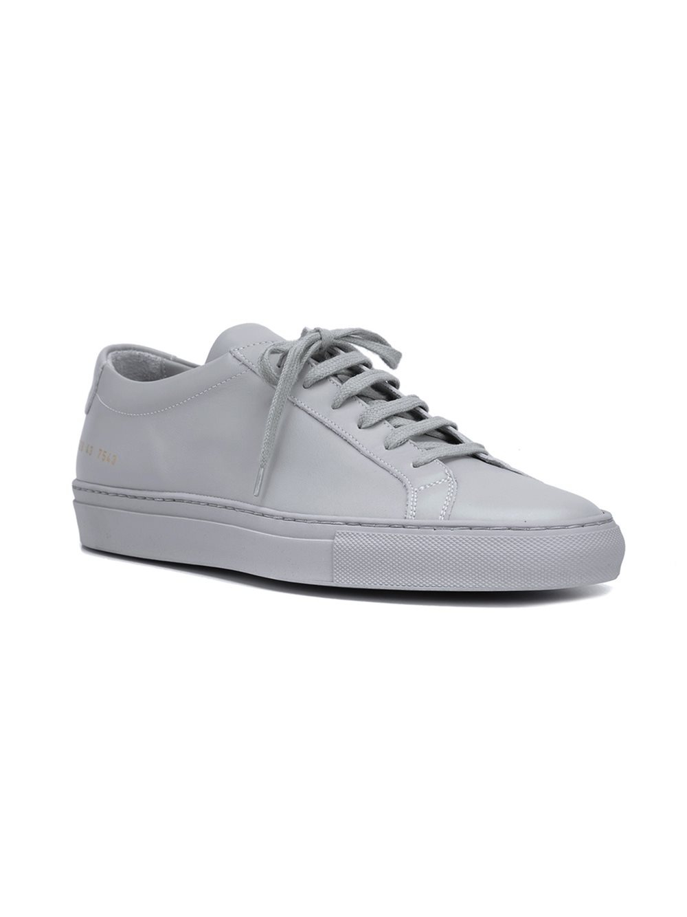 common projects original achilles low sneakers in white for men grey lyst. Black Bedroom Furniture Sets. Home Design Ideas