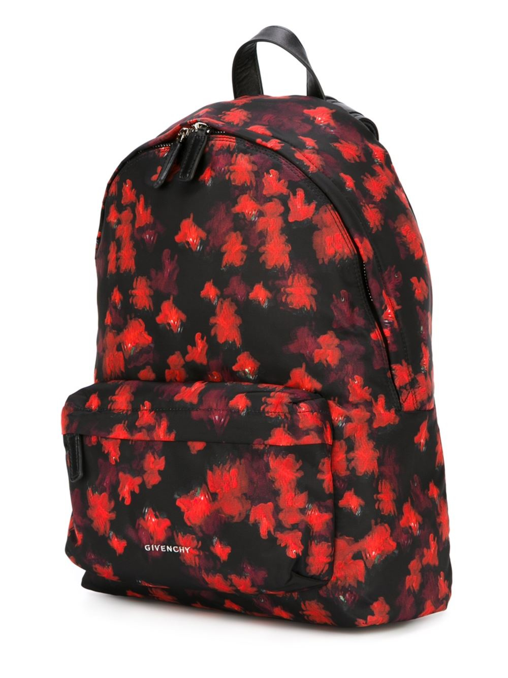 Givenchy Abstract Print Backpack in Black