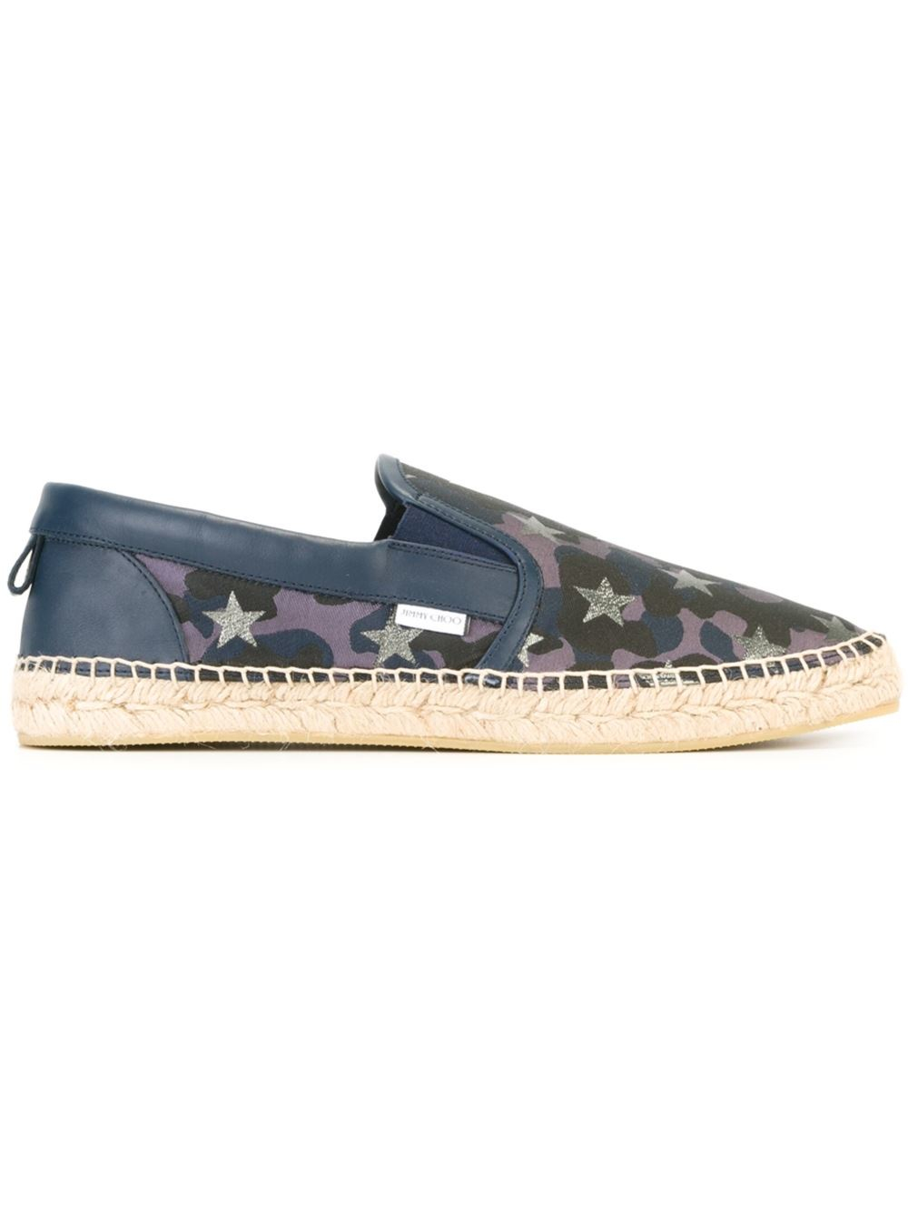 Jimmy choo vlad espadrilles in blue for men lyst for Jimmy choo mens shirts