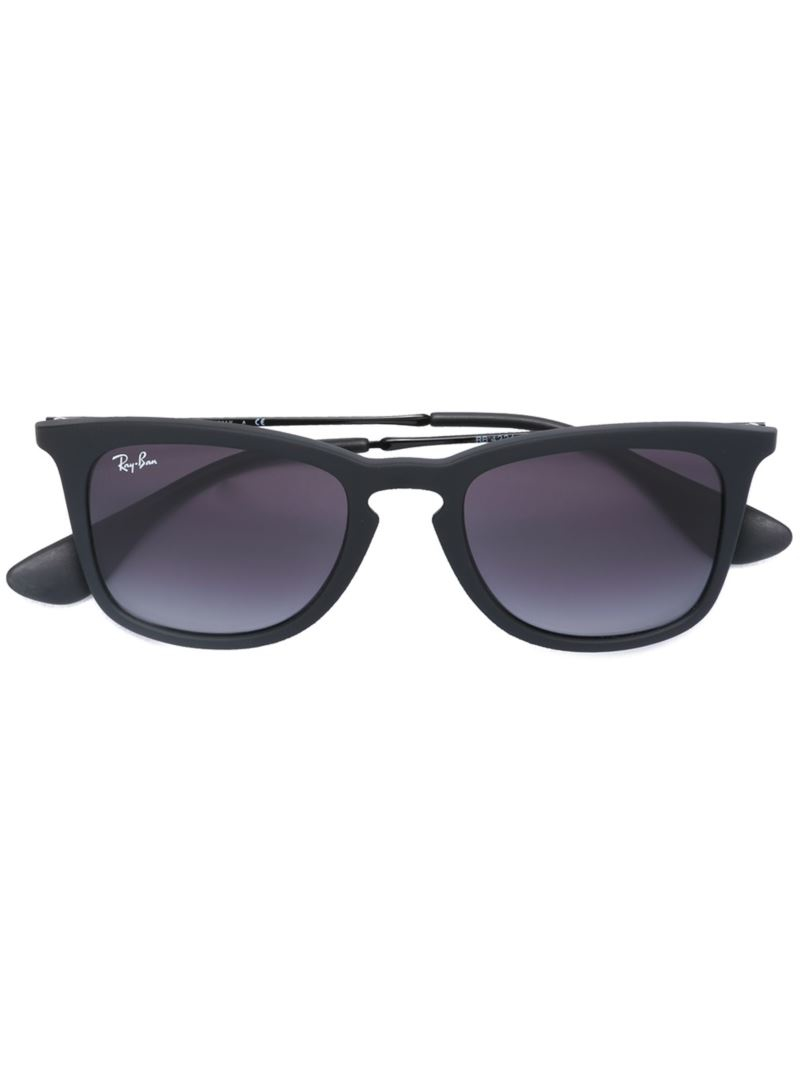 Ray Ban Square Frame Glasses : Ray-ban Square Frame Sunglasses in Black Lyst