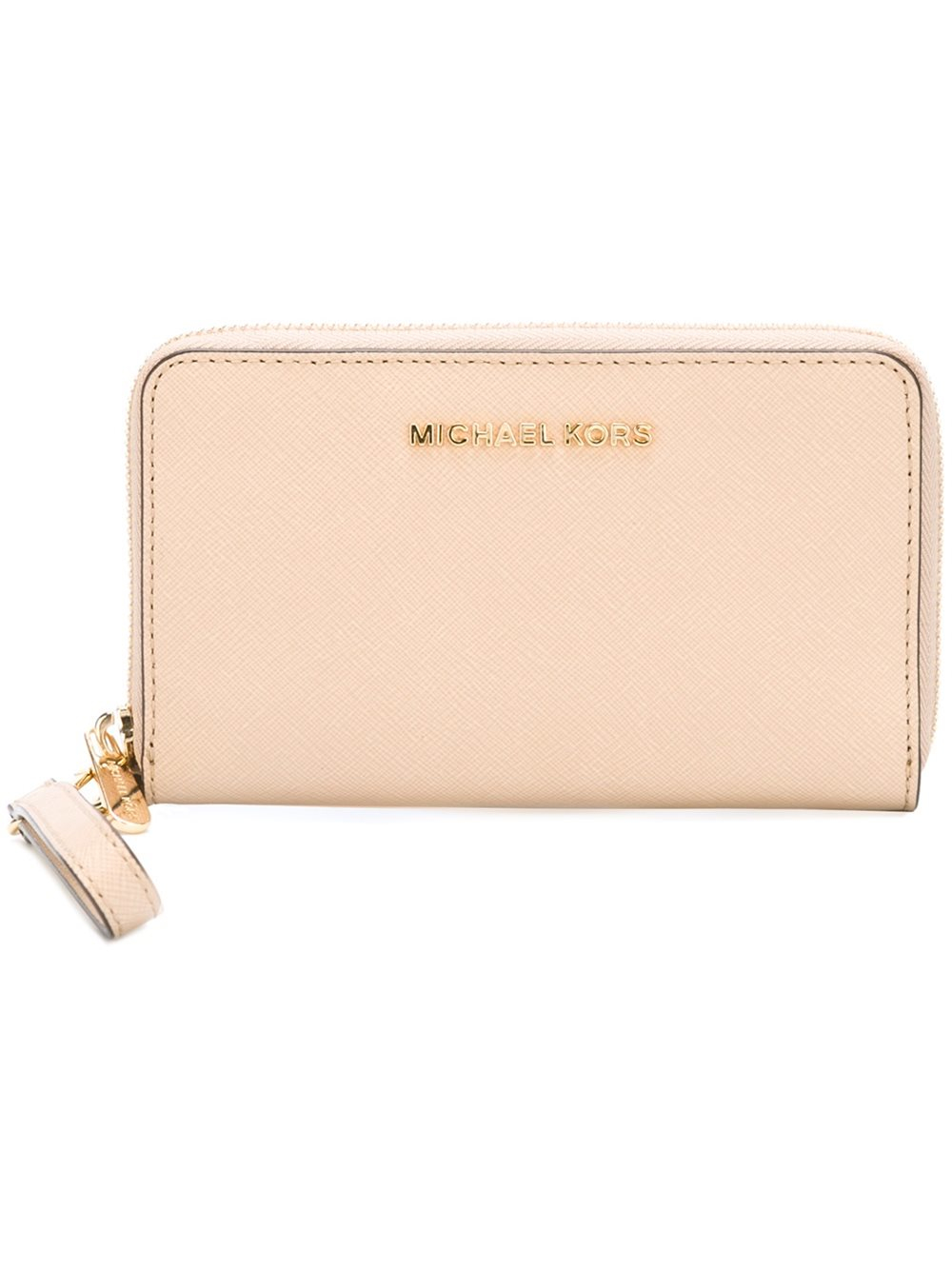 Michael Michael Kors Large Jet Set Travel Phone Wallet In Multicolor Nude -4149