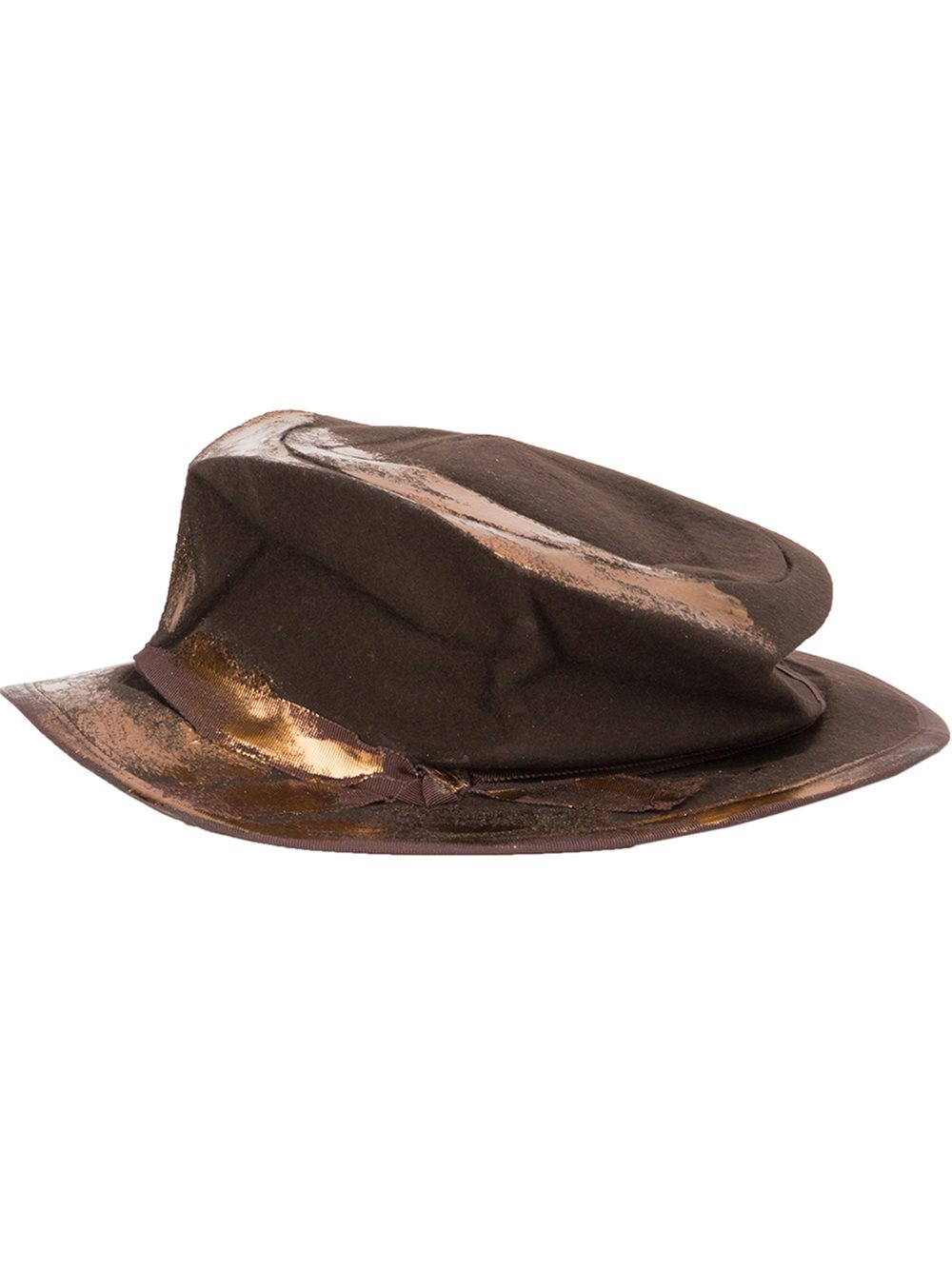 166a61744a2 CA4LA Worn Effect Classic Hat in Brown for Men - Lyst