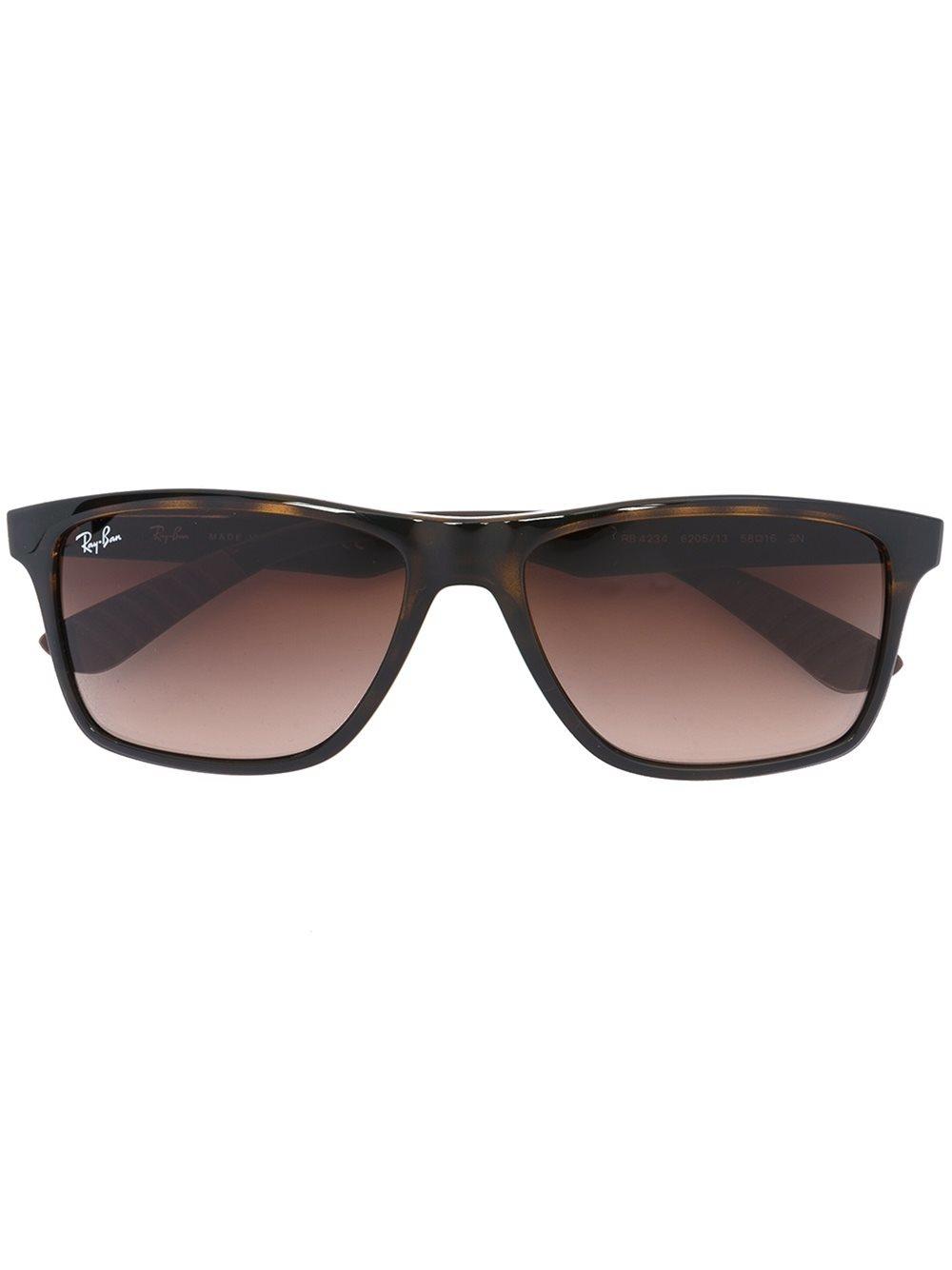 Ray Ban Square Frame Glasses : Ray-ban - Square Frame Sunglasses - Men - Acetate/rubber ...