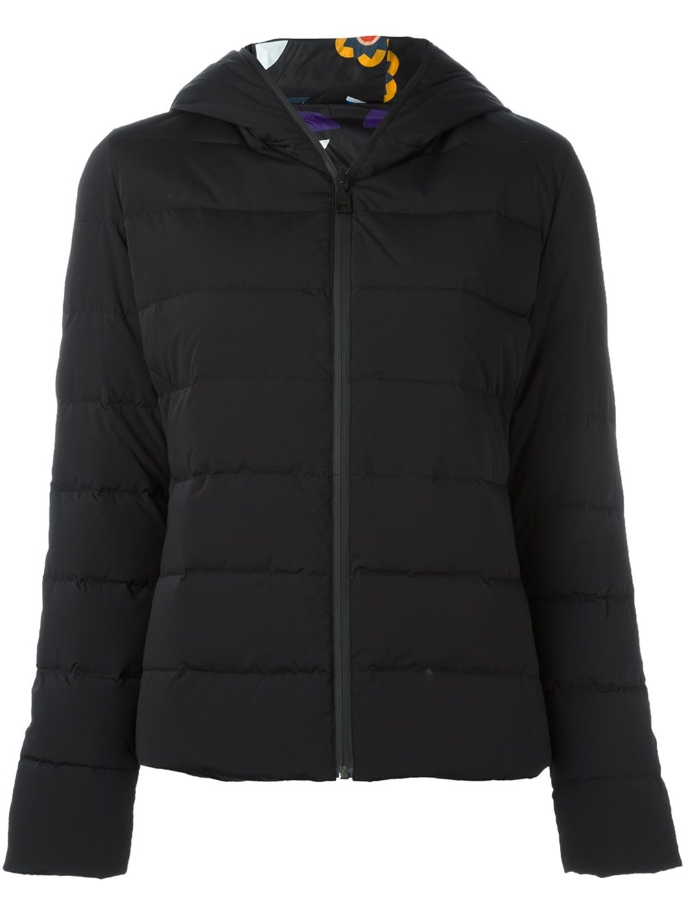 0ece113406dec8 Fendi Reversible Bag Bugs Puffer Jacket in Black | Lyst
