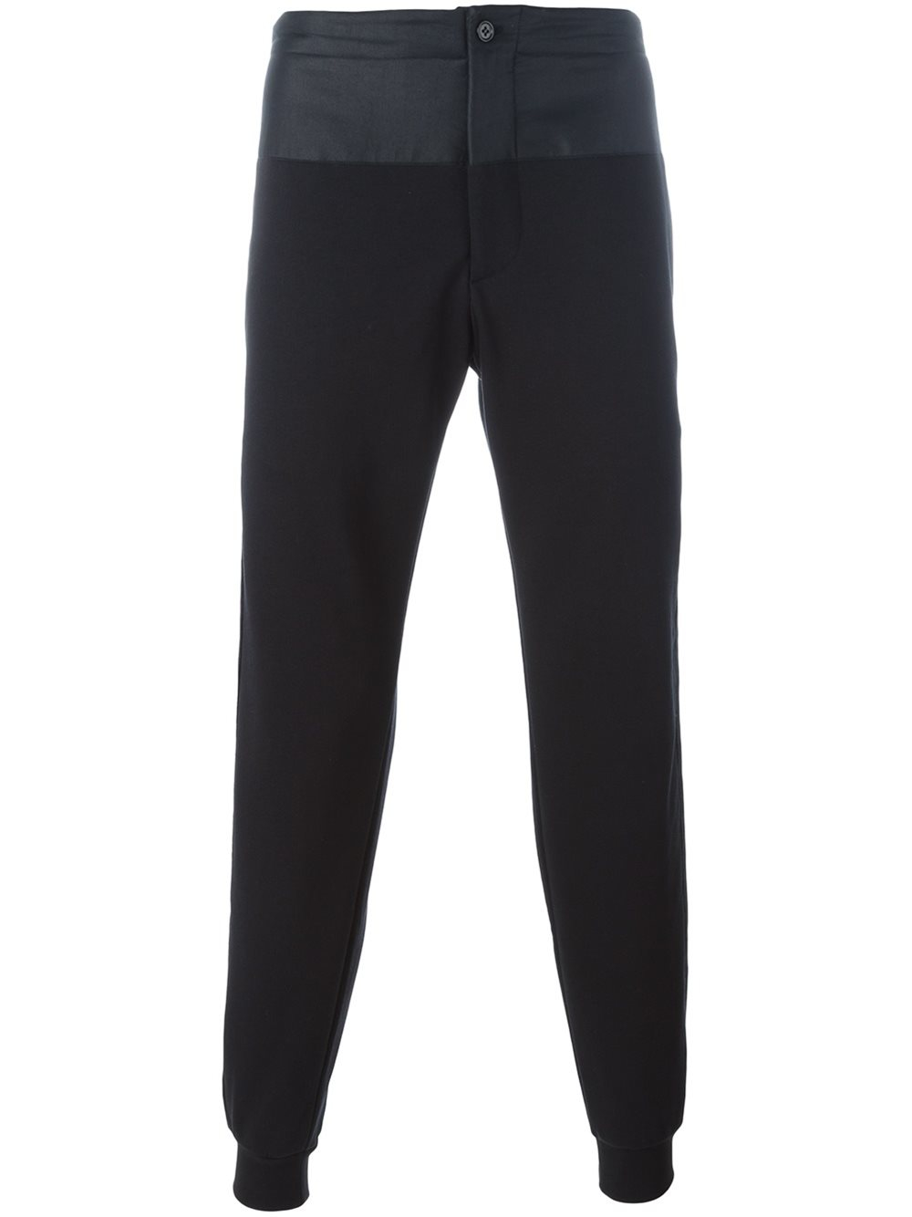 Alexander Mcqueen Side Stripe Track Pants In Black For Men