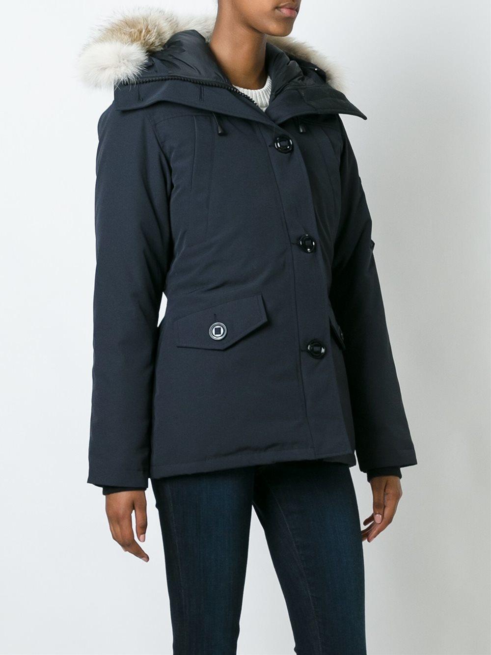 Canada Goose langford parka sale store - Canada goose 'montebello' Parka Coat in Blue   Lyst