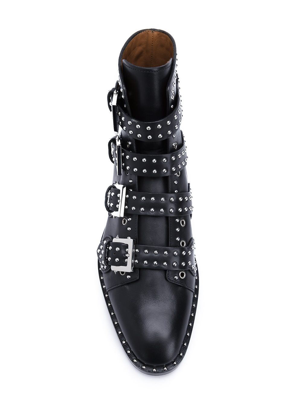 Givenchy Studded Leather Ankle Boots In Black For Men Lyst