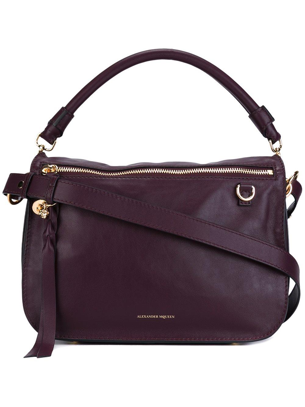 @ Alexander McQueen Small Leather Bucket Bag | Buy Sale