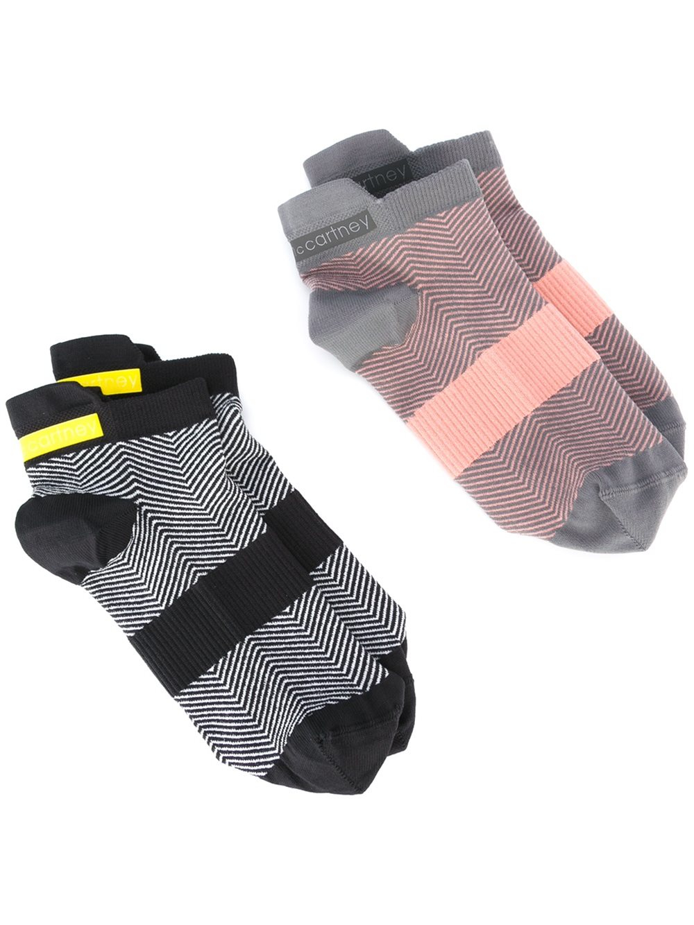 adidas by stella mccartney 39 run 39 socks twin set in. Black Bedroom Furniture Sets. Home Design Ideas