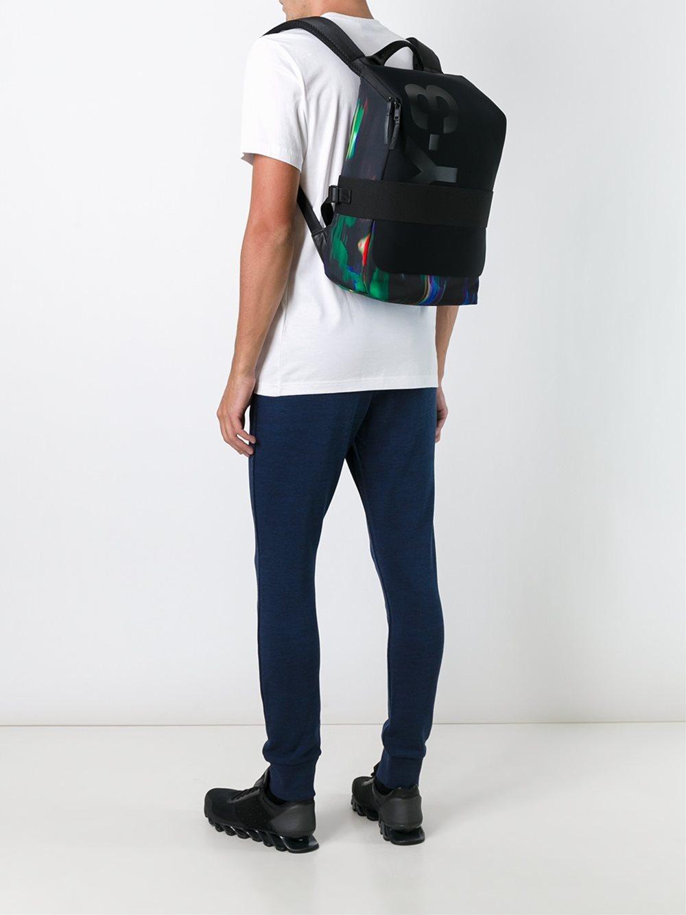 61bcd95dad4b6 Y-3 Small  qasa  Backpack in Black for Men - Lyst