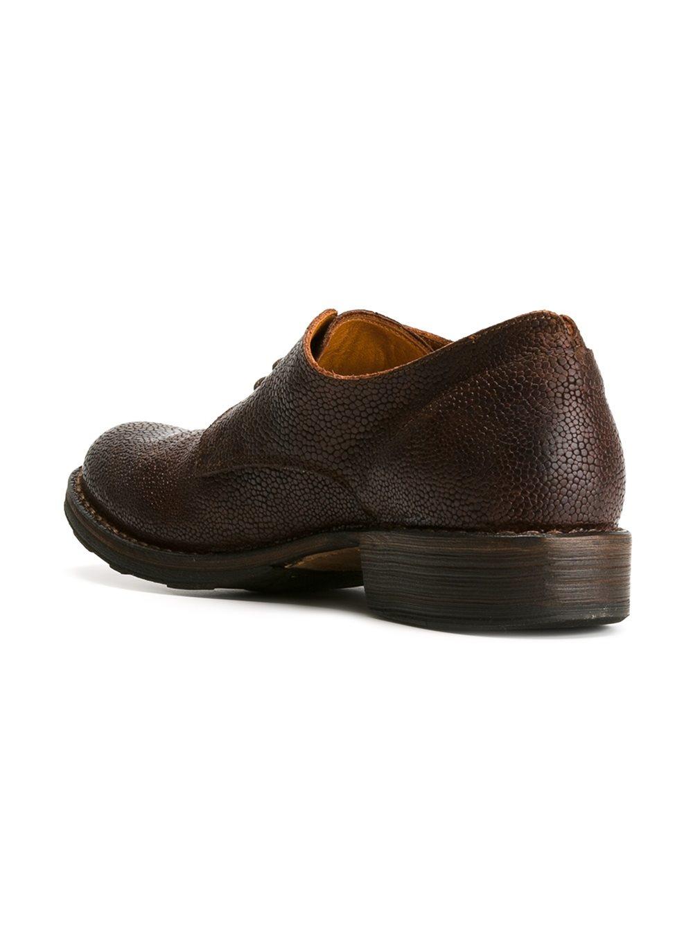 fiorentini baker 39 eternity 39 derby shoes in brown for men. Black Bedroom Furniture Sets. Home Design Ideas