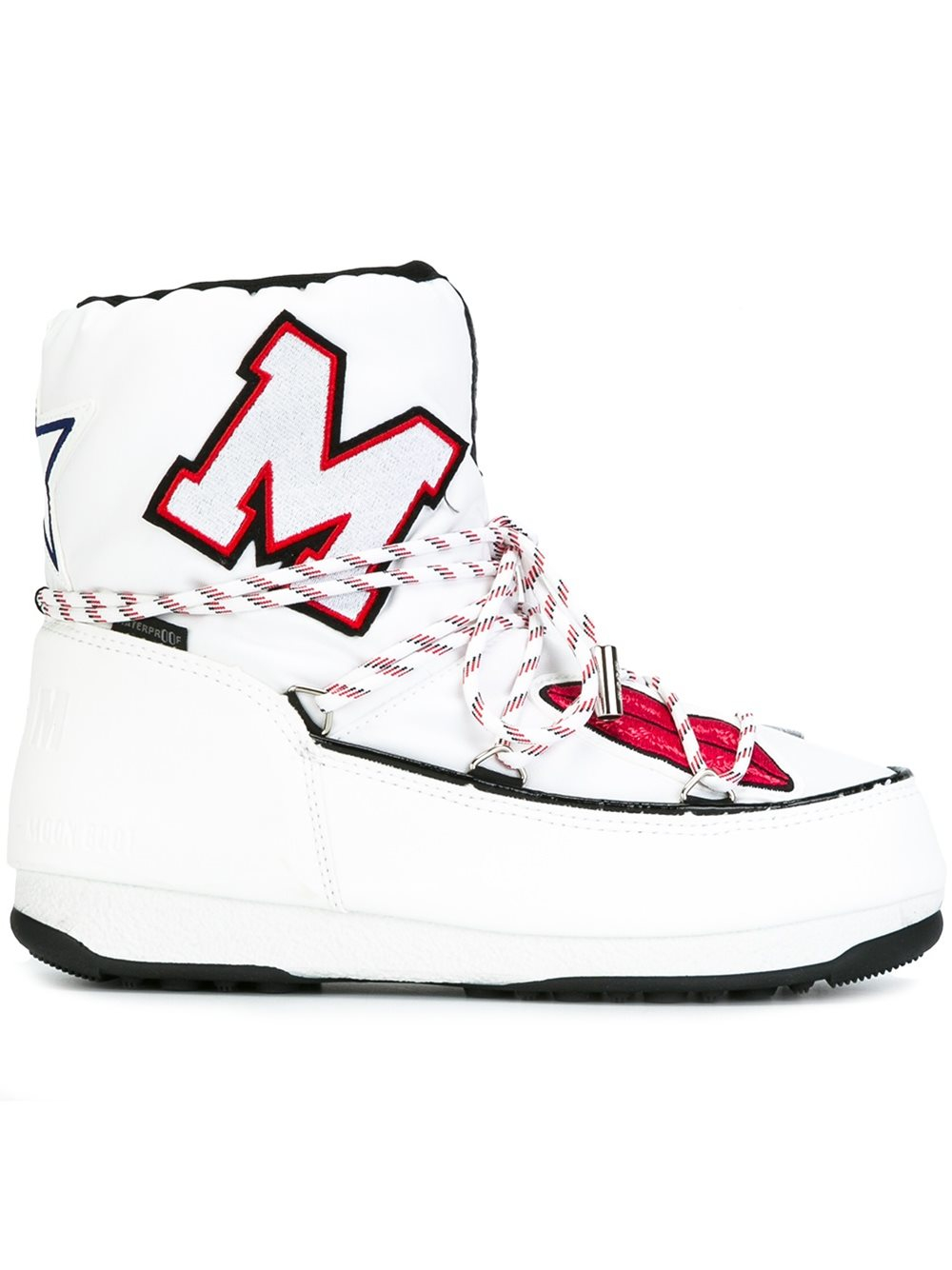 4f77071d137a Lyst - MSGM X Moon Boot Apres-ski Boots in White