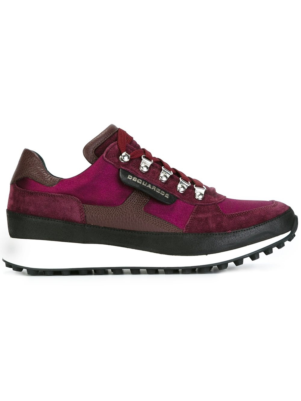 dsquared 39 dean goes hiking 39 sneakers in purple for men lyst. Black Bedroom Furniture Sets. Home Design Ideas