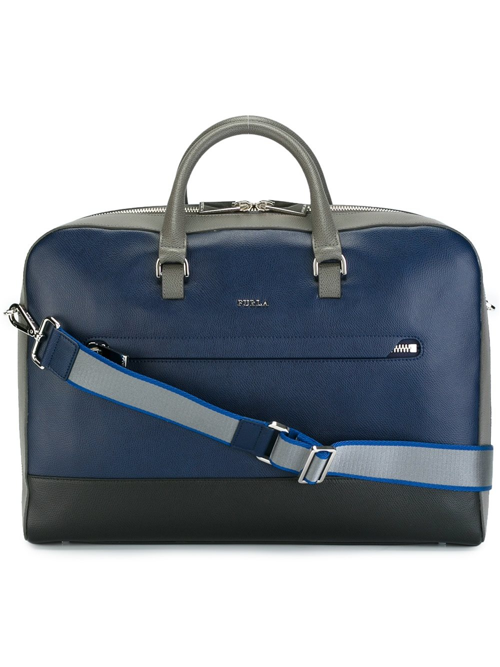 a520e7017d93 Lyst - Furla Top Handle Briefcase in Blue for Men