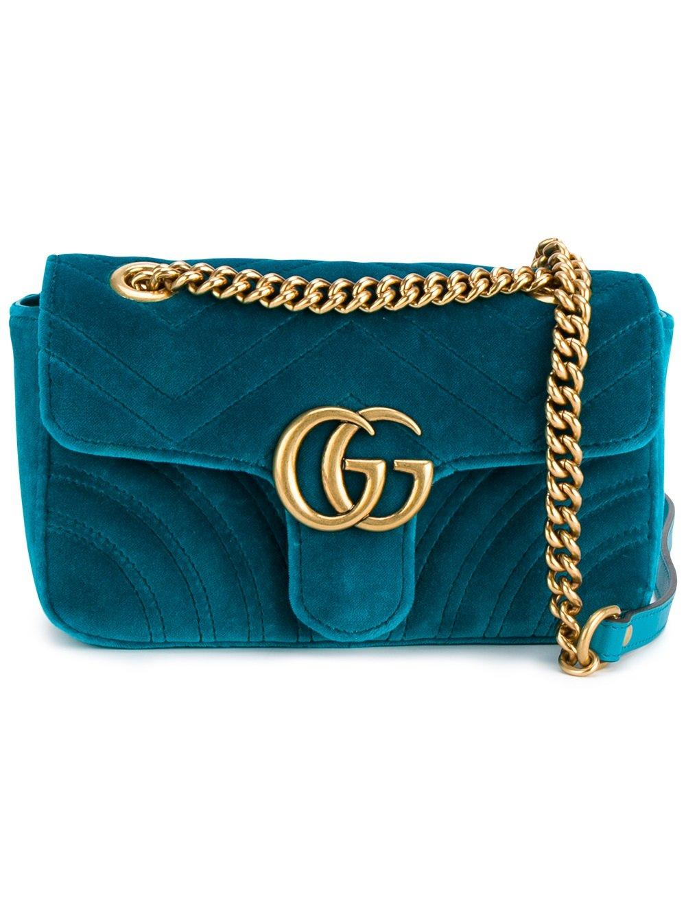 31bb5cd6a71df4 Gucci Marmont Small Shoulder Bag Green | Stanford Center for ...
