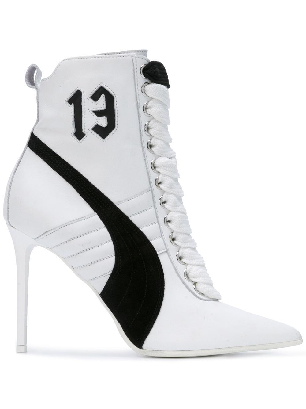 Lyst Puma Fenty X Rihanna Sneaker Boots In White