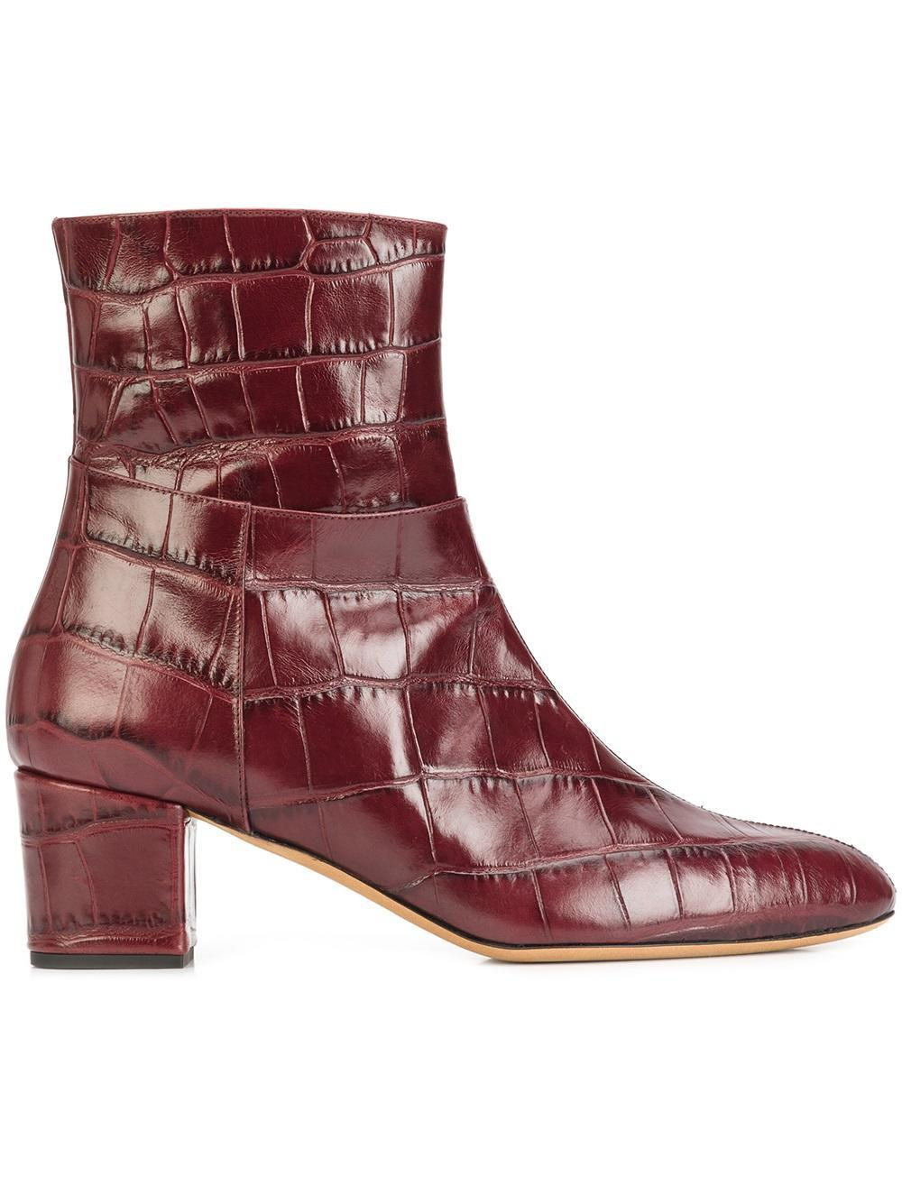 a7fdf443750 Lyst - Altuzarra  callie  Ankle Boots in Red