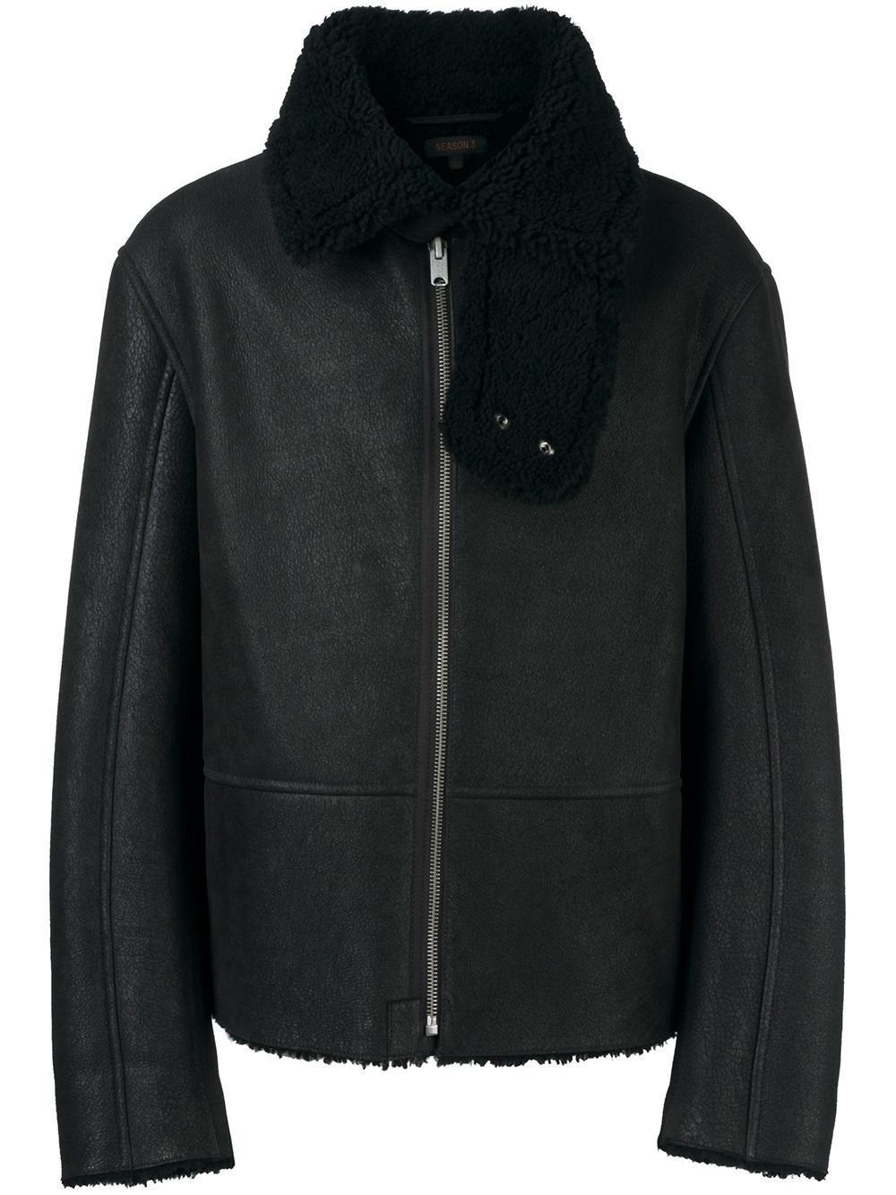 Lyst Yeezy Season 3 Flight Jacket In Black For Men
