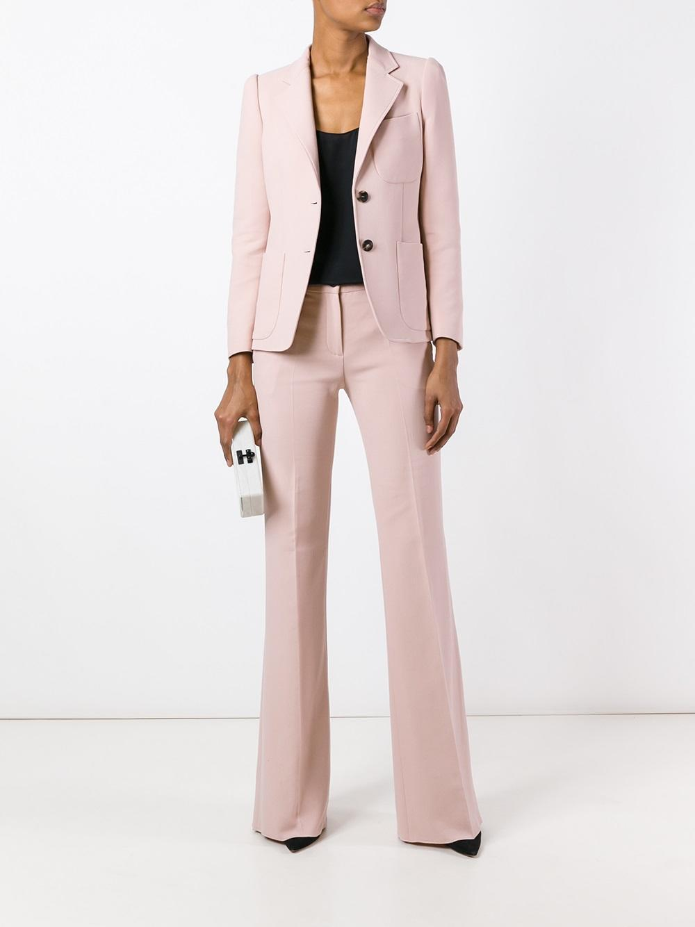 Lyst Roberto Cavalli Two Piece Suit In Pink