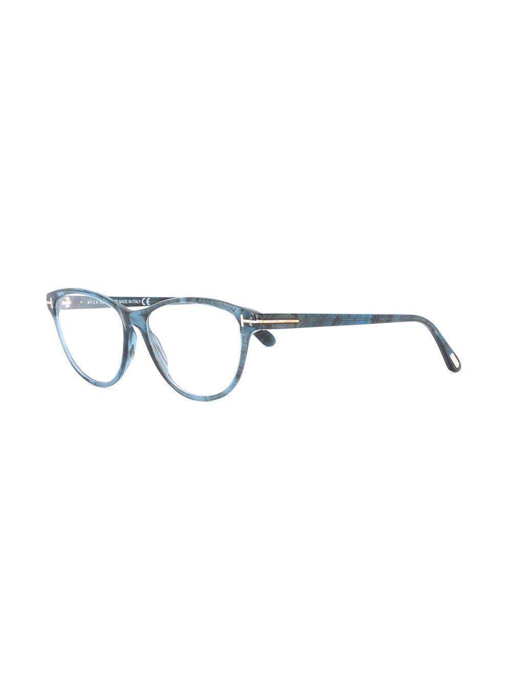 Mirrored Cat Eye Sunglasses Tom Ford