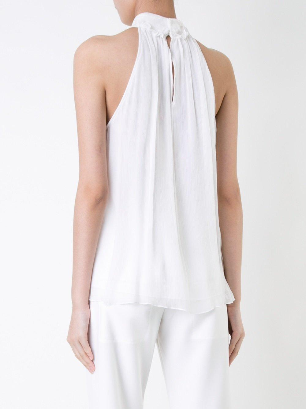 Lyst Manning Cartell Unpinned Blouse In White