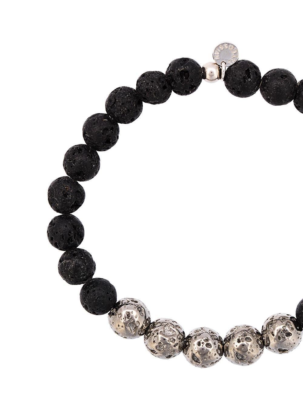 Tateossian Beaded Bracelet In Metallic For Men Lyst