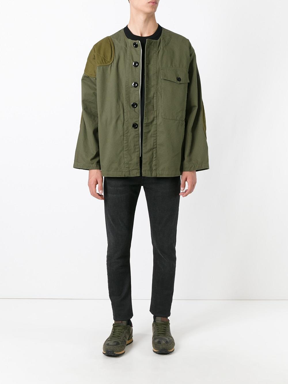g star raw aefon jacket in green for men lyst. Black Bedroom Furniture Sets. Home Design Ideas