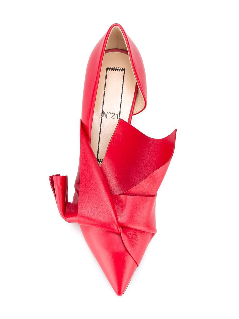N° santa claus pumps in red lyst