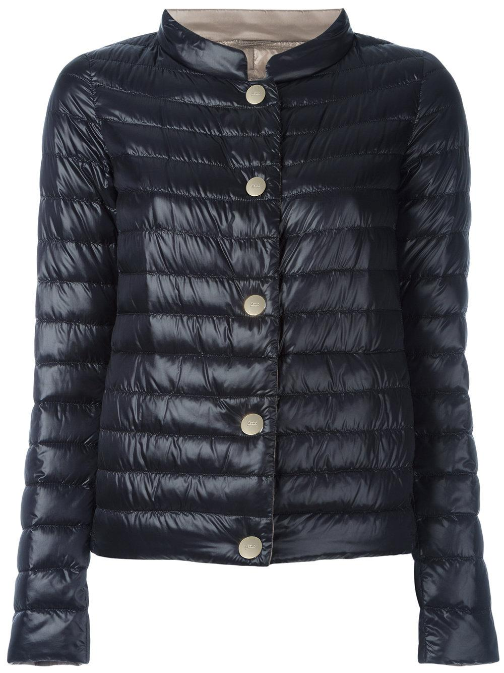 Herno Reversible Padded Jacket Women Feather Down