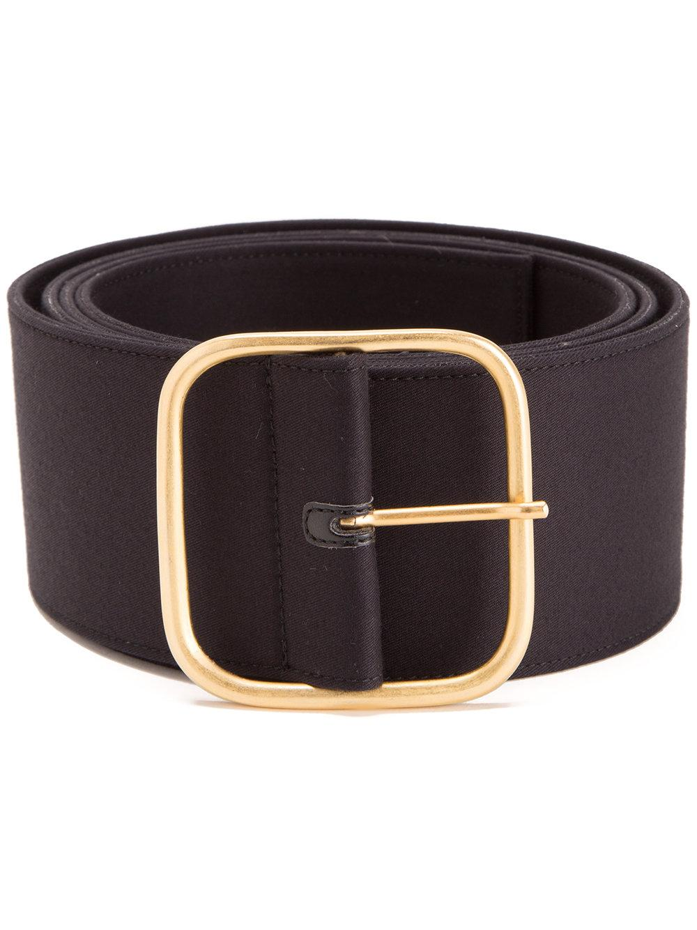 monse wide belt in black lyst