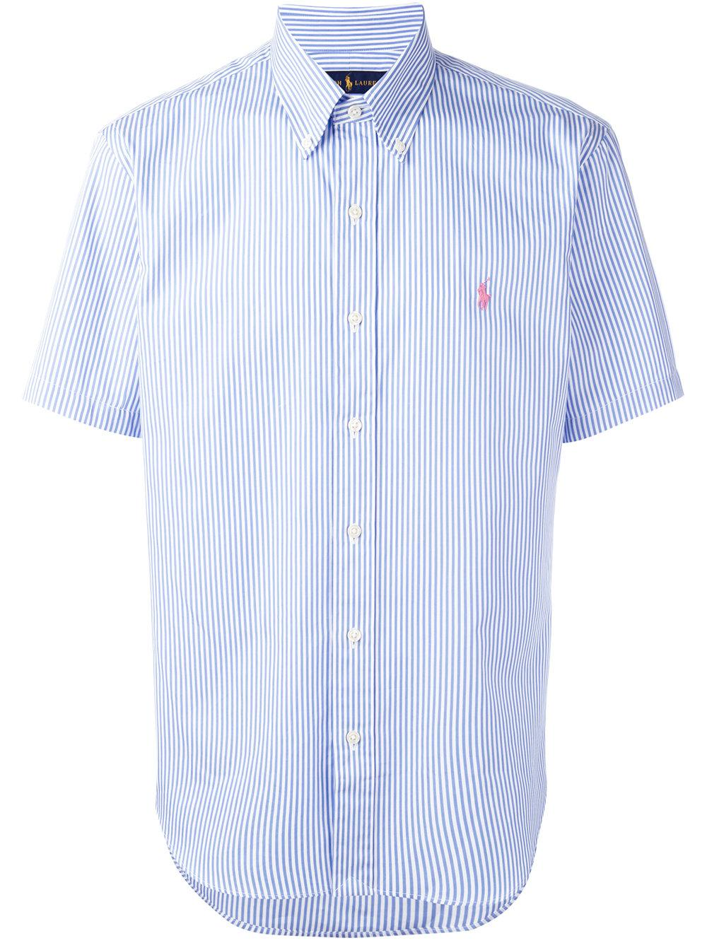 Lyst Polo Ralph Lauren Striped Short Sleeve Shirt In