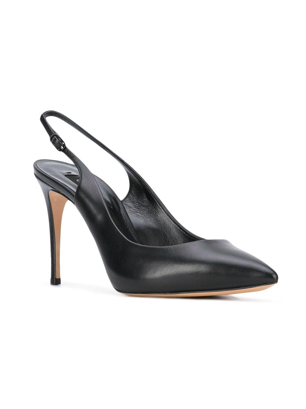 Lyst Casadei Slingback Pumps In Black